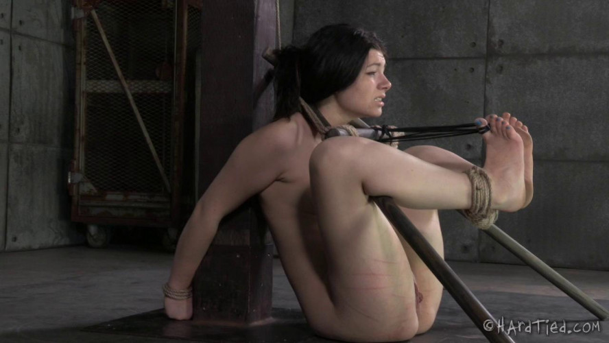 BDSM Harley Ace Gets Excited By Intense Rope Bondage