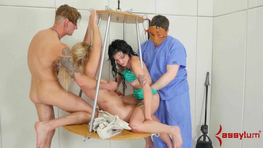 BDSM Whore wash - extreme painal