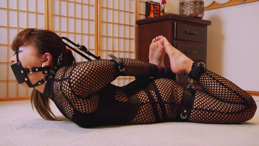 BDSM Mina is Locked in Her New Cuffs Part Two