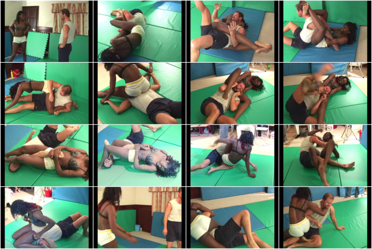 Femdom and Strapon Tenacious, Aggressive Amazon Takes Fight to Male Opponent - Kassidy - HD 720p