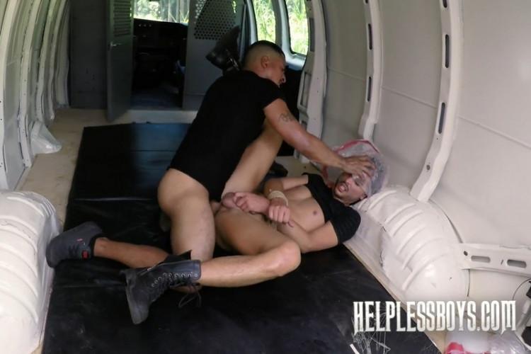 Gay BDSM HelplessB - Gabriel Knight - Camper gets Collared