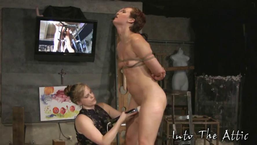 BDSM Tight bondage, spanking and torture for naked slavegirl part 2 HD 1080p