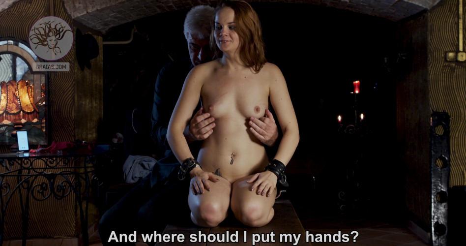 BDSM Teen Slave Amelie Punished Hard