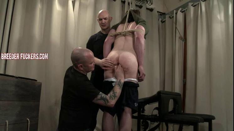 Gay BDSM Mark - Tied, gagged, groped, verbal humiliation