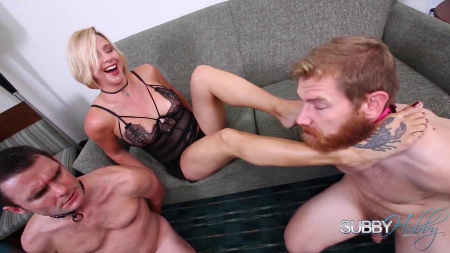 Femdom and Strapon Goddess Brianna Punishes Her Cuck - FullHD 1080p