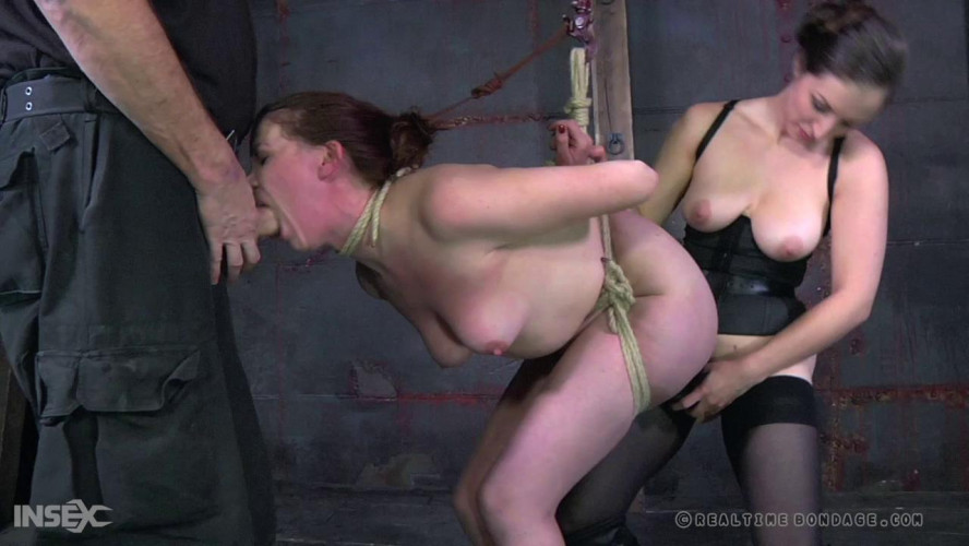 BDSM Bondage & Rough Anal Play