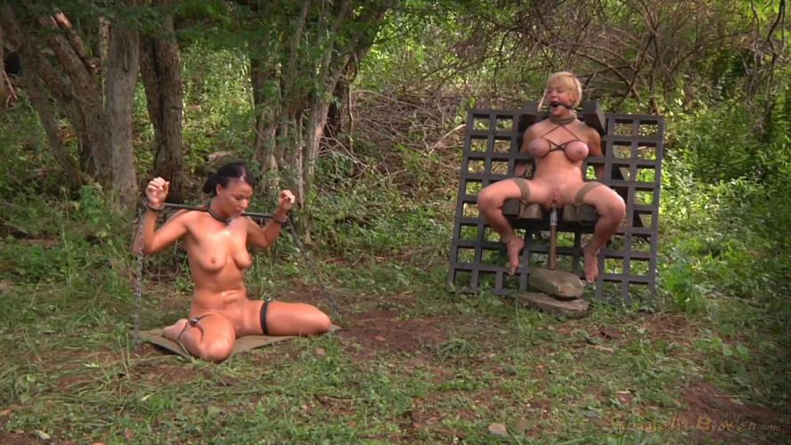 BDSM Outdoor Punishment For Best Slaves Darling &London River