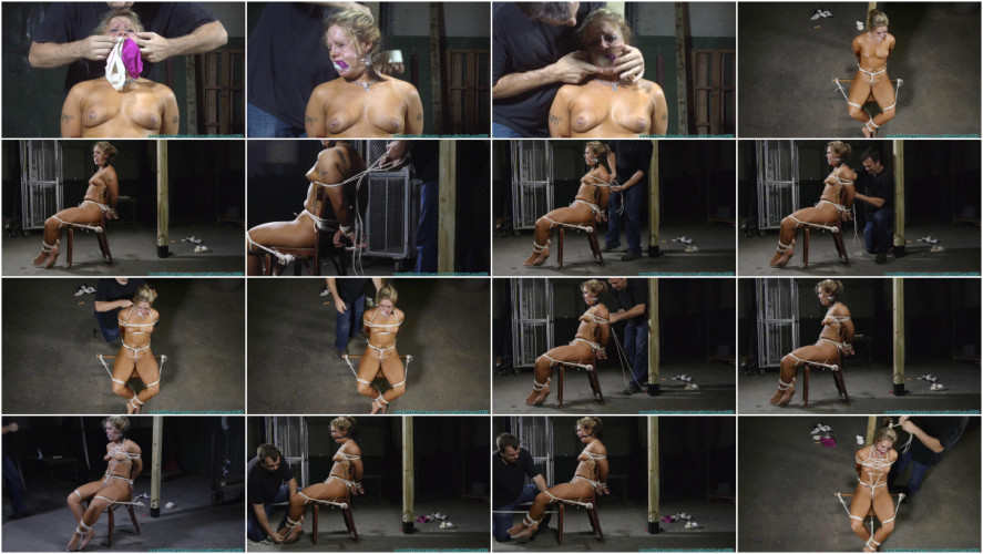 BDSM Punishing Nude Chair Tie for Adara - Part 2
