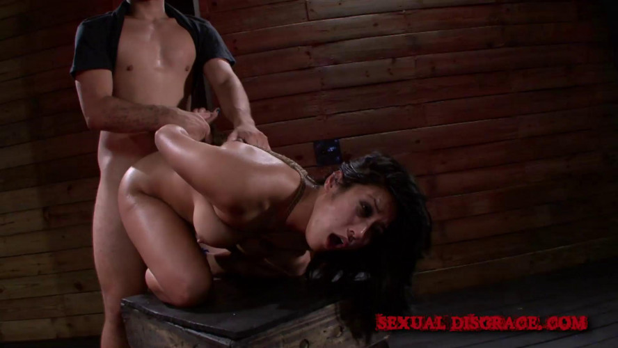 BDSM Rope bondage and rough sex with bdsm