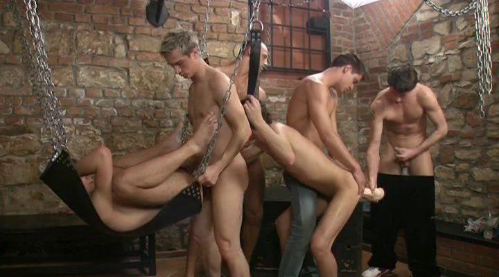 Gay BDSM Sex Boy Toy