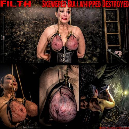 BDSM BrutalMaster - Filth - Skewered Bullwhipped Destroyed