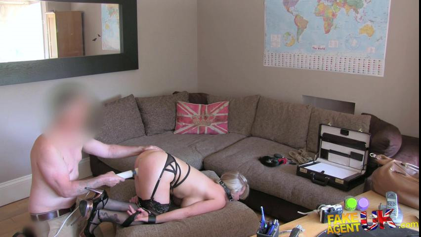 BDSM Big titted blonde