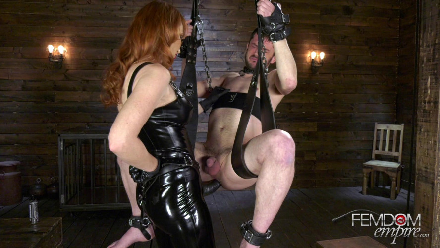 Femdom and Strapon Meat Puppet