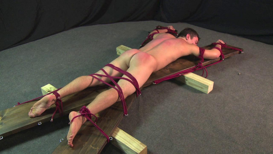 Gay BDSM Stud cums and gets a spanking cole vol. 6