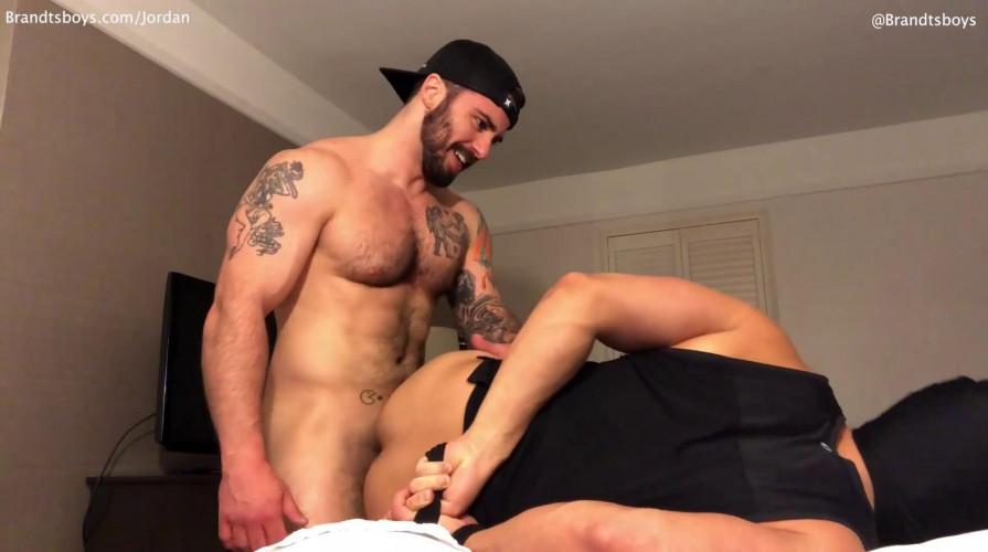 Gay BDSM BrandtsBoys - Jordan fucks Luke
