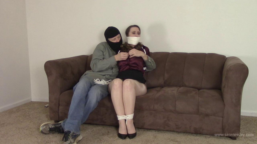 BDSM Serene Isley - Forced to Bind Herself By a Bad Man