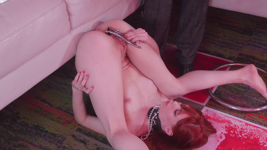 BDSM Domination Fuck Service For Red Head Slave