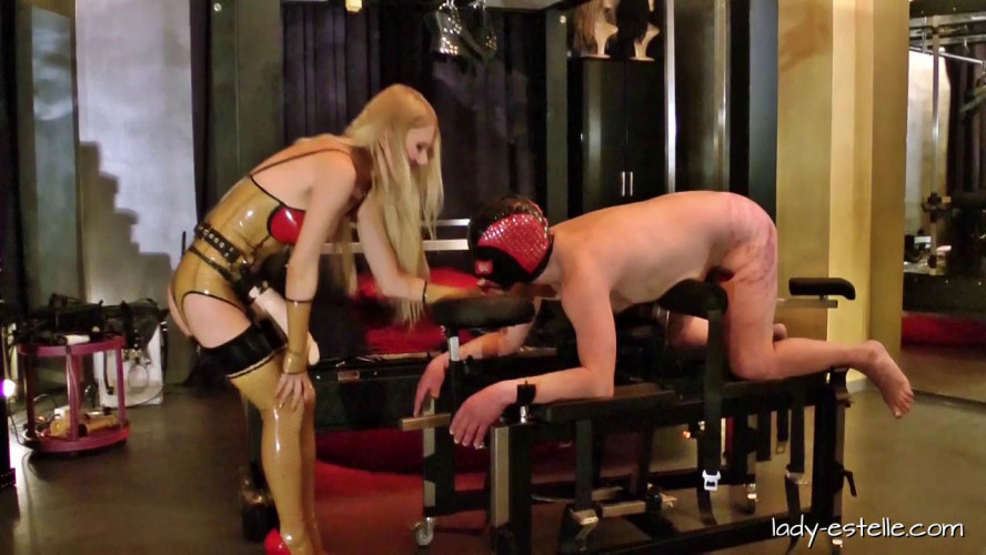 Femdom and Strapon Lady Estelle - Suffering for my Fun
