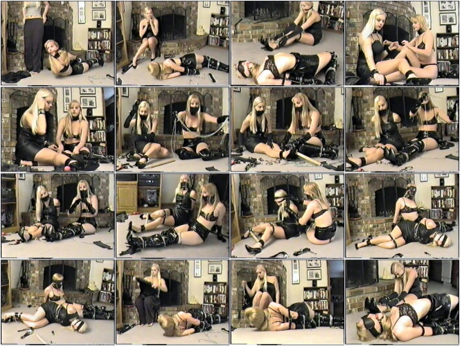 BDSM Latex Self - Bondage Party