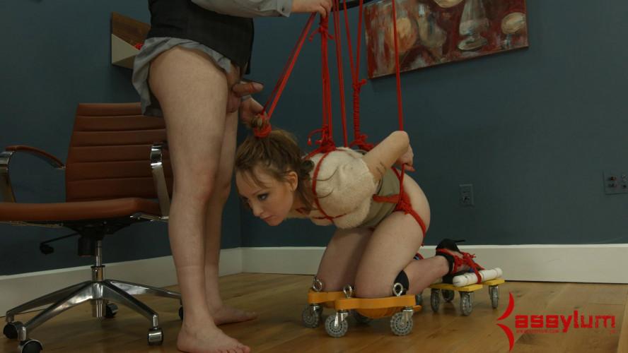 BDSM Assulum - Amy Aimless - Assmouth Part 1: anal bimbo on wheels