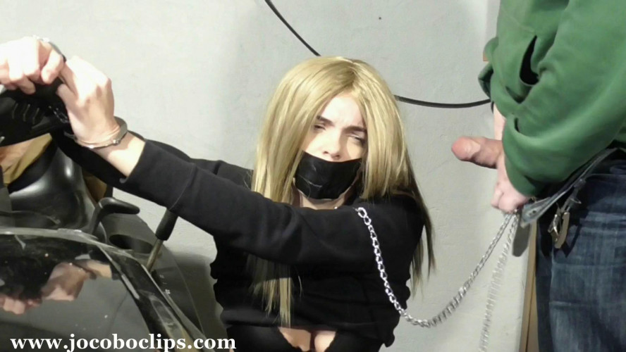 BDSM Blonde Sexslave