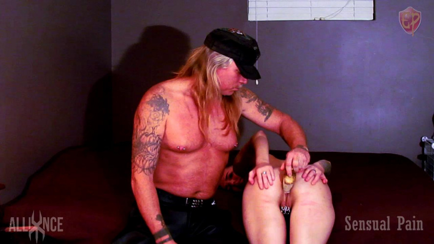 BDSM  Radish Anal Training - Abigail Dupree
