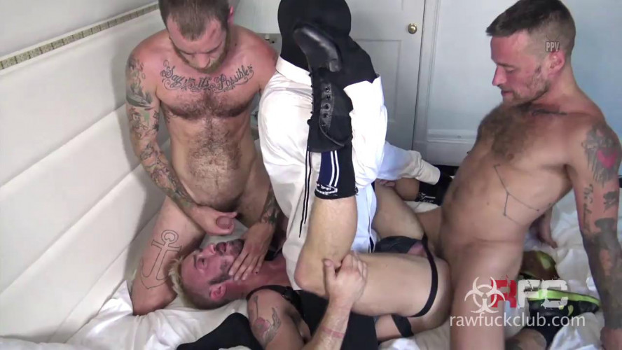Gay BDSM Leave That Ass Leaking - 720p