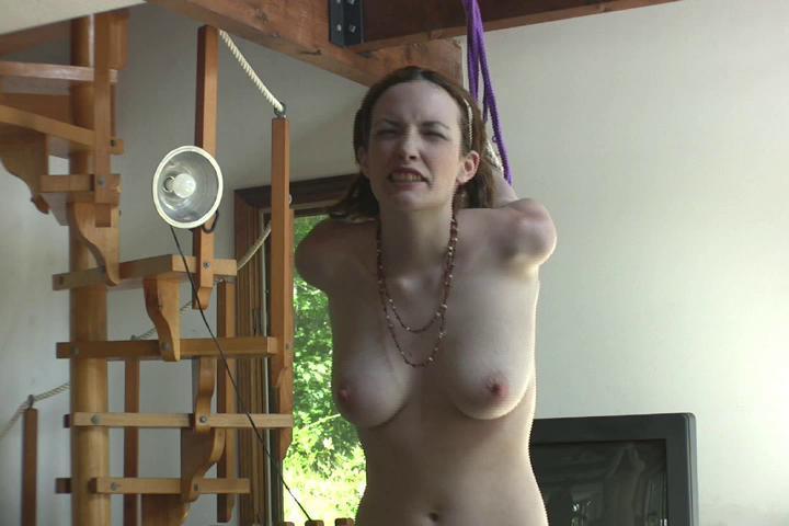 BDSM Lizzie Tied
