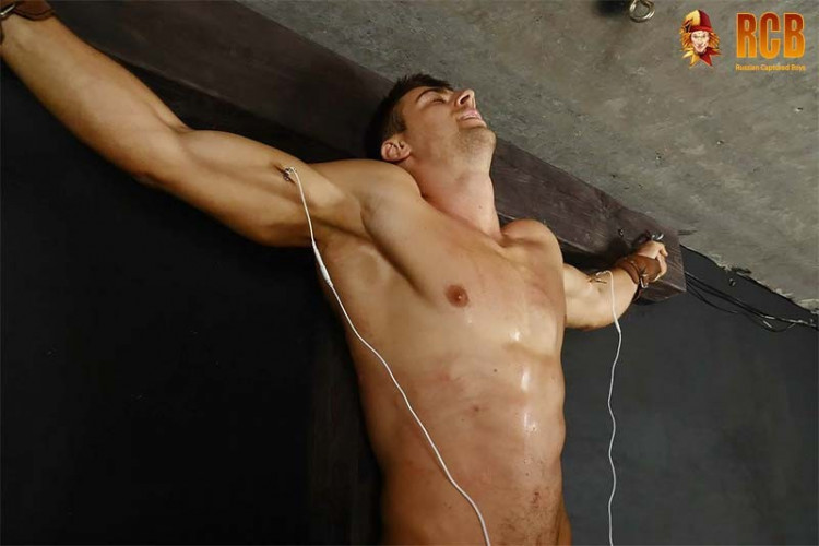 Gay BDSM RCapturedBoys - Strength Gymnast Anton. Final Part