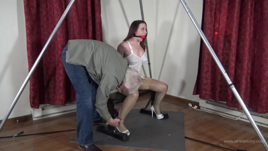 BDSM Serene Isley: White Girdle Predicament