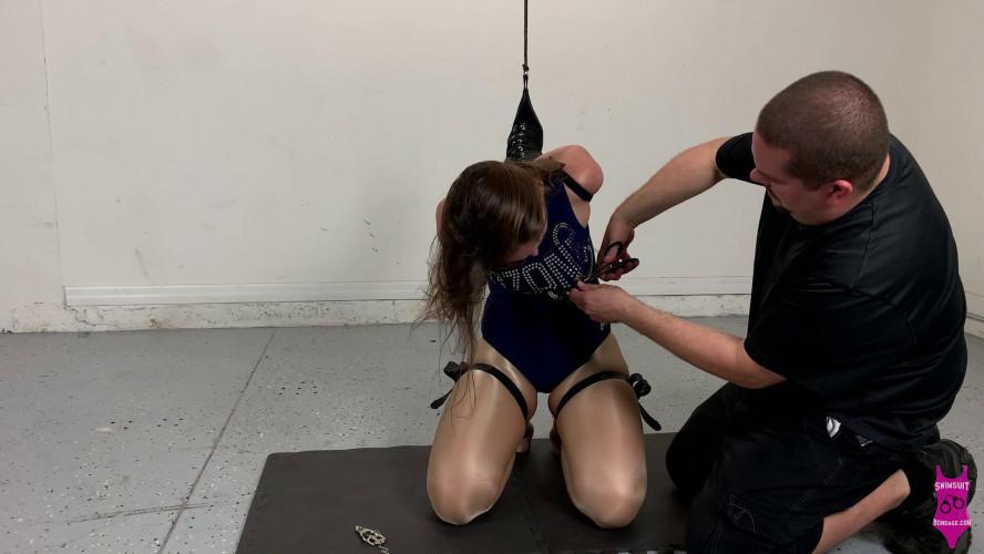 BDSM Rachel Adams nipple clamp predicament