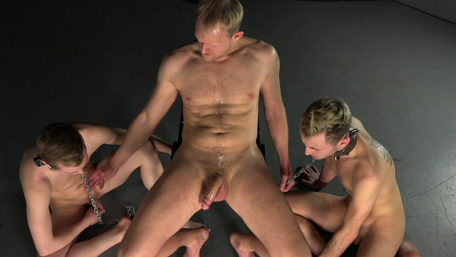 Gay BDSM Joseph & Hunter - Straight Gays