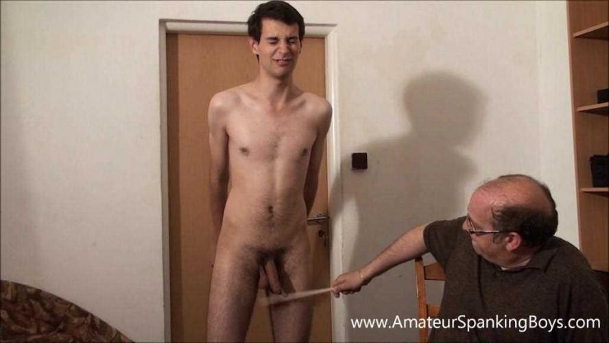 Gay BDSM Lukas So. Wooden Spoon
