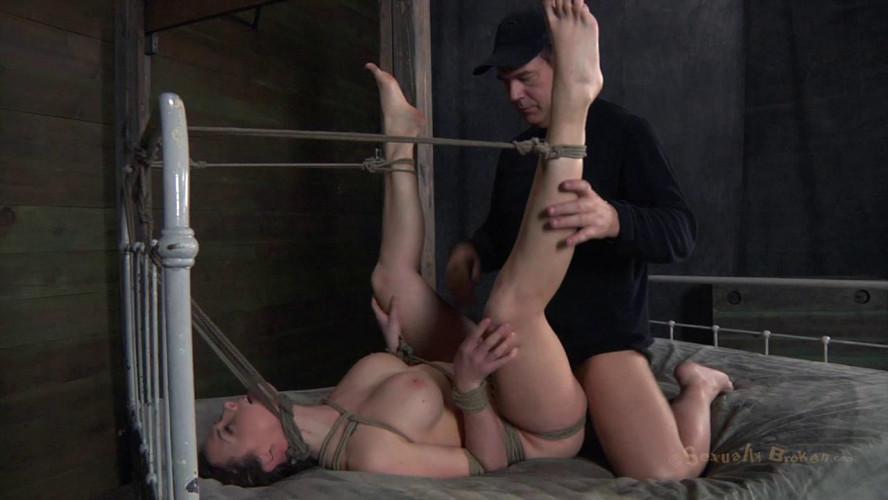 BDSM SexuallyBroken - Chanel Preston helpless Brutally deep throated