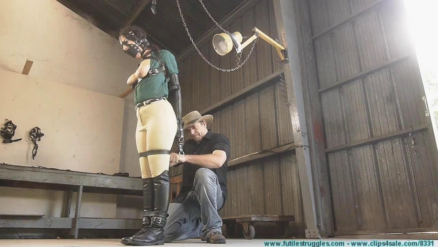 BDSM Pony Girl Leather