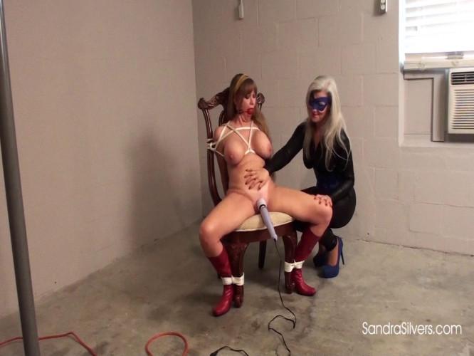 BDSM Superheroine Wonder Darla Endures Bondage Orgasm