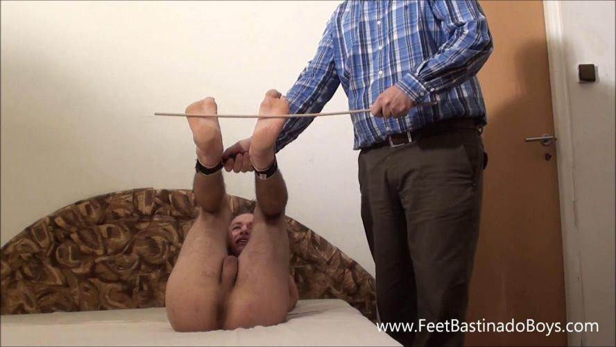 Gay BDSM FeetBastinadoBoys - Roland Karlin