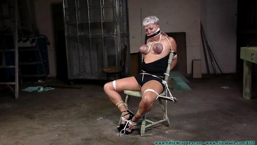 BDSM Nova Pink Visits - Chair Tied - Part 2