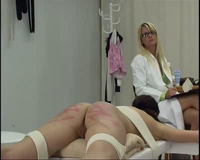 BDSM Judicial Caning Scene 2