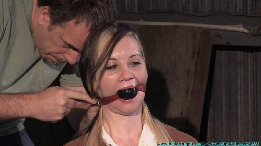 BDSM Lexi Kneels and Begs for Tit Torture, and Gets It vol. 1