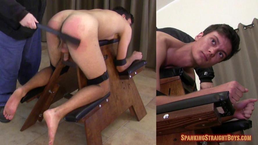 Gay BDSM Ryan on the Bench