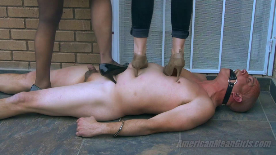 Femdom and Strapon The Human Welcome Mat