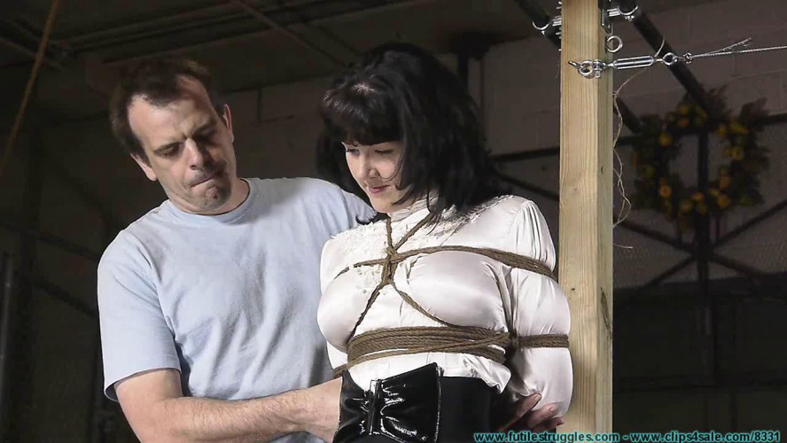 BDSM HD Bdsm Sex Videos Safa Ball Hog Tied Part 1