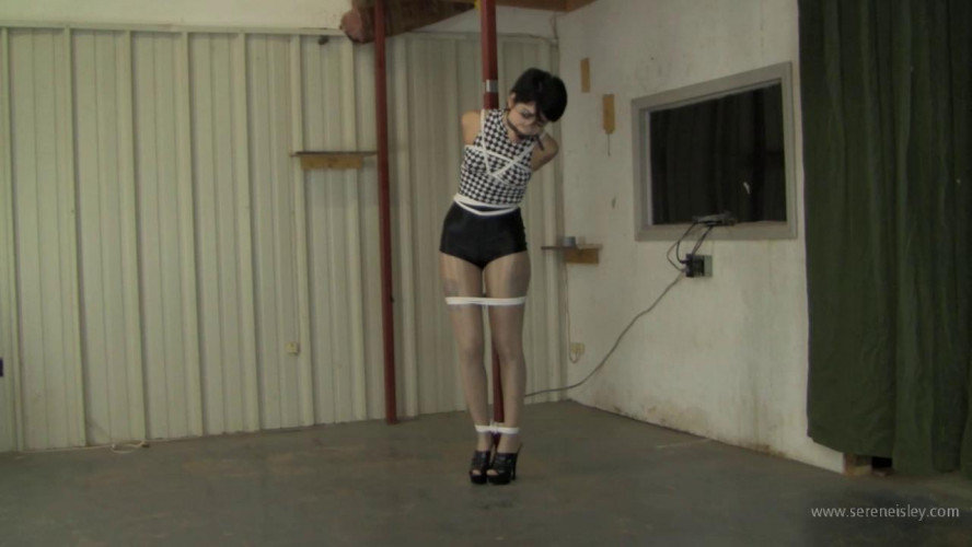 BDSM Johannie - Pole Tied Short Shorts