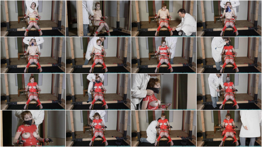 BDSM Latex Lots of Tape and Gags for Dixon Mason vol. 1