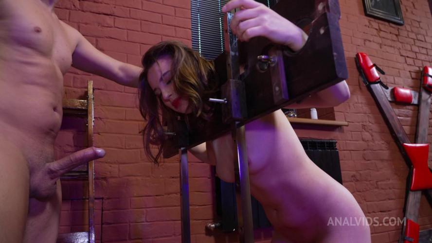 BDSM Devilishly Kristi and the excitation from anal destruction!
