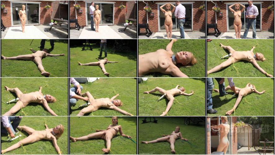 BDSM Hard bondage, domination and torture for hot blonde part 1 Full HD 1080p