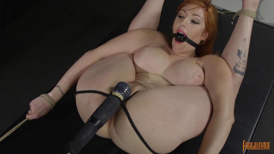 BDSM Busty Babe Begging to Cum