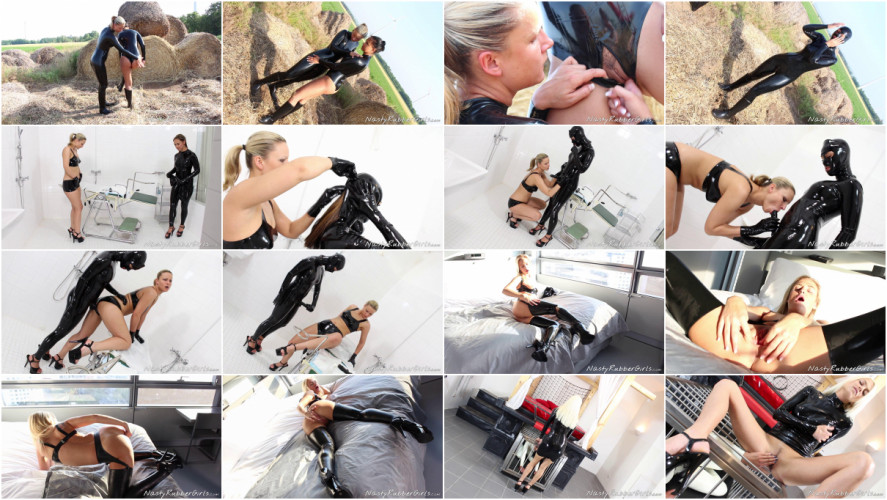 BDSM Latex Cool Unreal Wonderfull Perfect Collection Natsy Rubber Girls. Part 2.