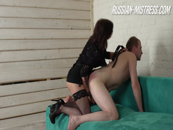 Femdom and Strapon Sexy Jynx Loves Humilation